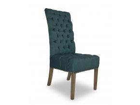 Luxusní židle Artuš s připínáčky, anglický styl Chesterfield