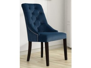 Luxusní židle Lady Sir England s připínáčky, čalouněná ve stylu Chesterfield