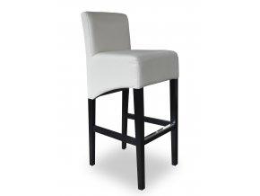 Moderní barová židle se šikmým sedákem