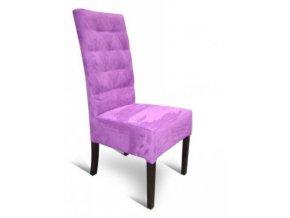 Moderní prošitá židle se zesíleným sedákem