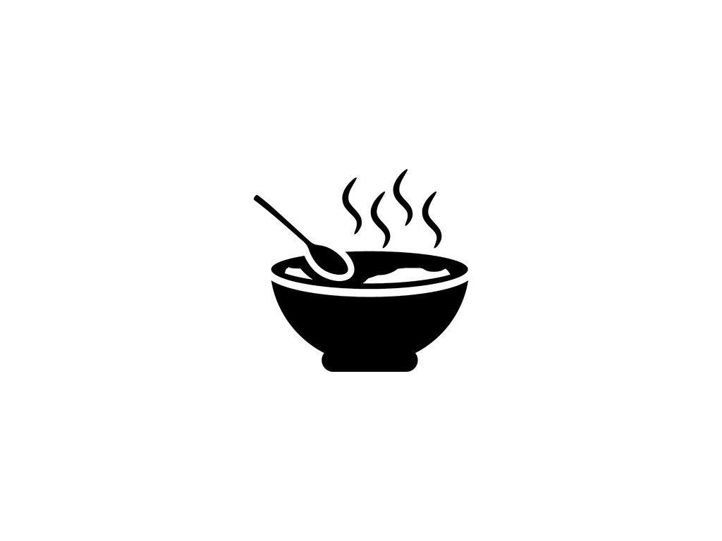 1ks Opečená klobása, křen, hořčice, chléb