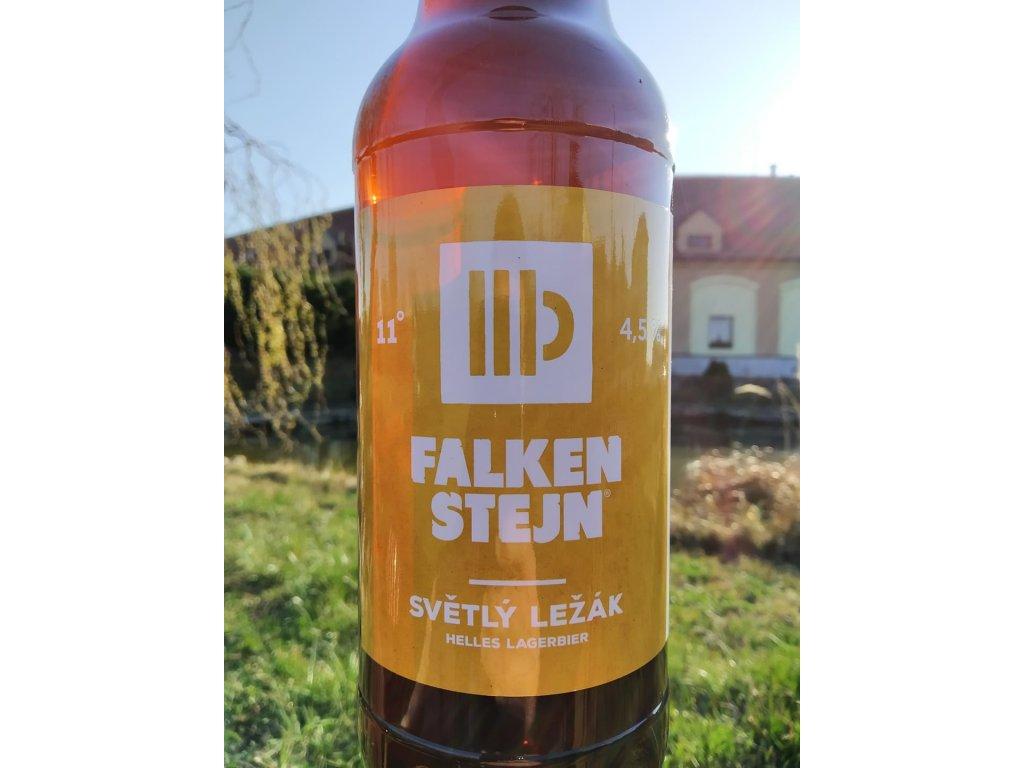1l PET Falkenstejn světlý ležák 11°