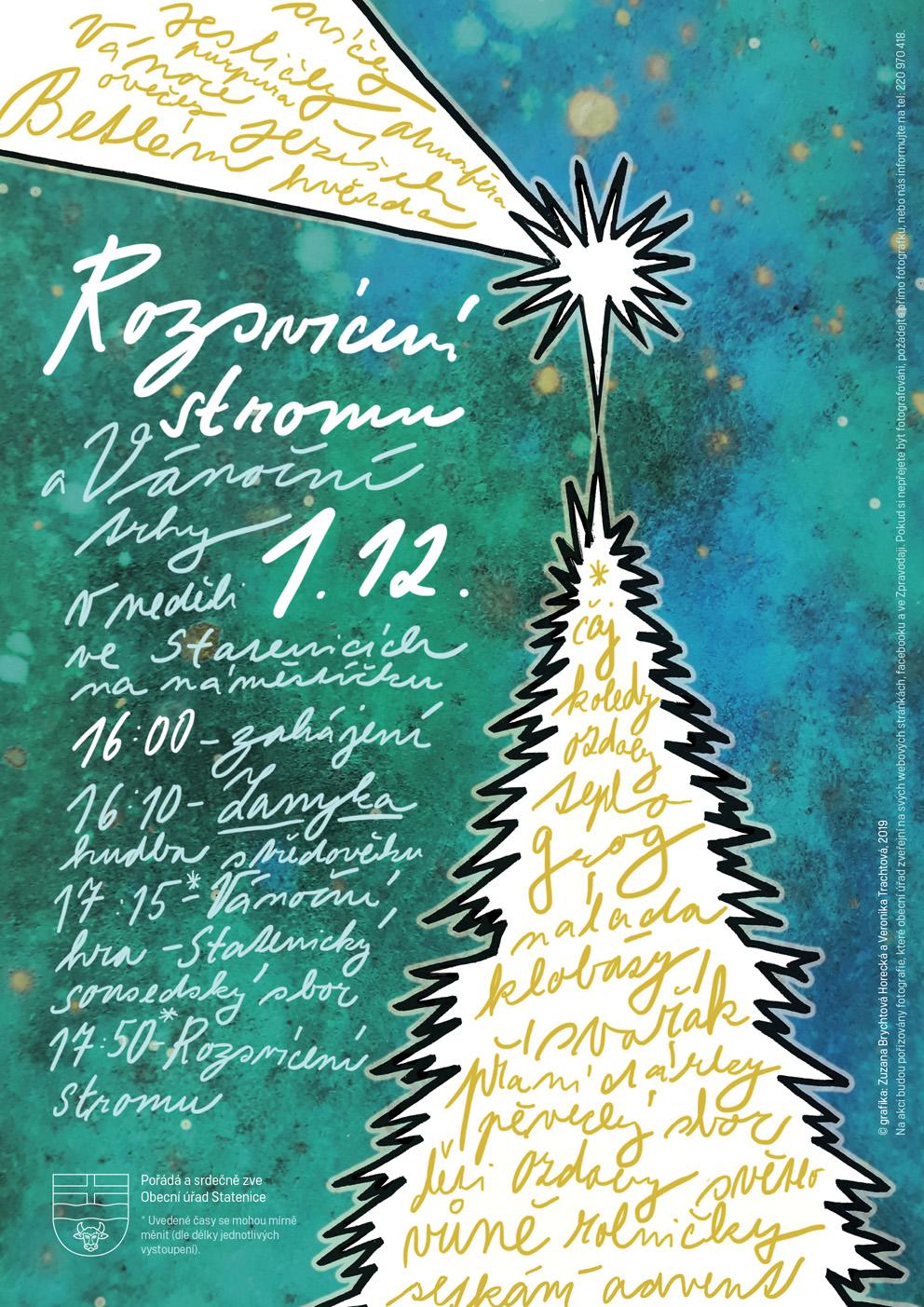 Vánoční trhy ve Statenicích 30.11