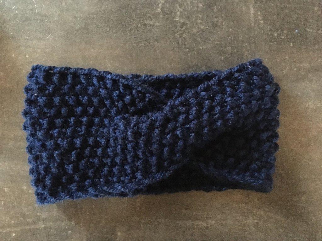 Čelenka překřížená modrá