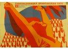 Sportovní retro plakáty a cedule