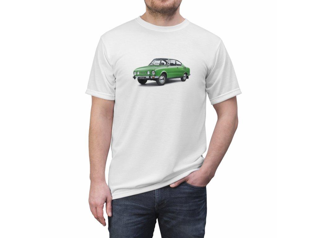 Retro tričko - Škoda 110 R Coupe
