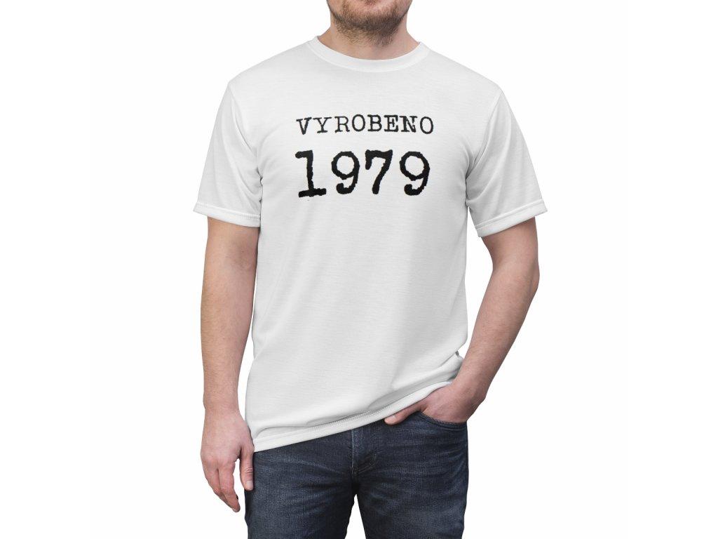 Retro tričko - Vyrobeno + váš letopočet