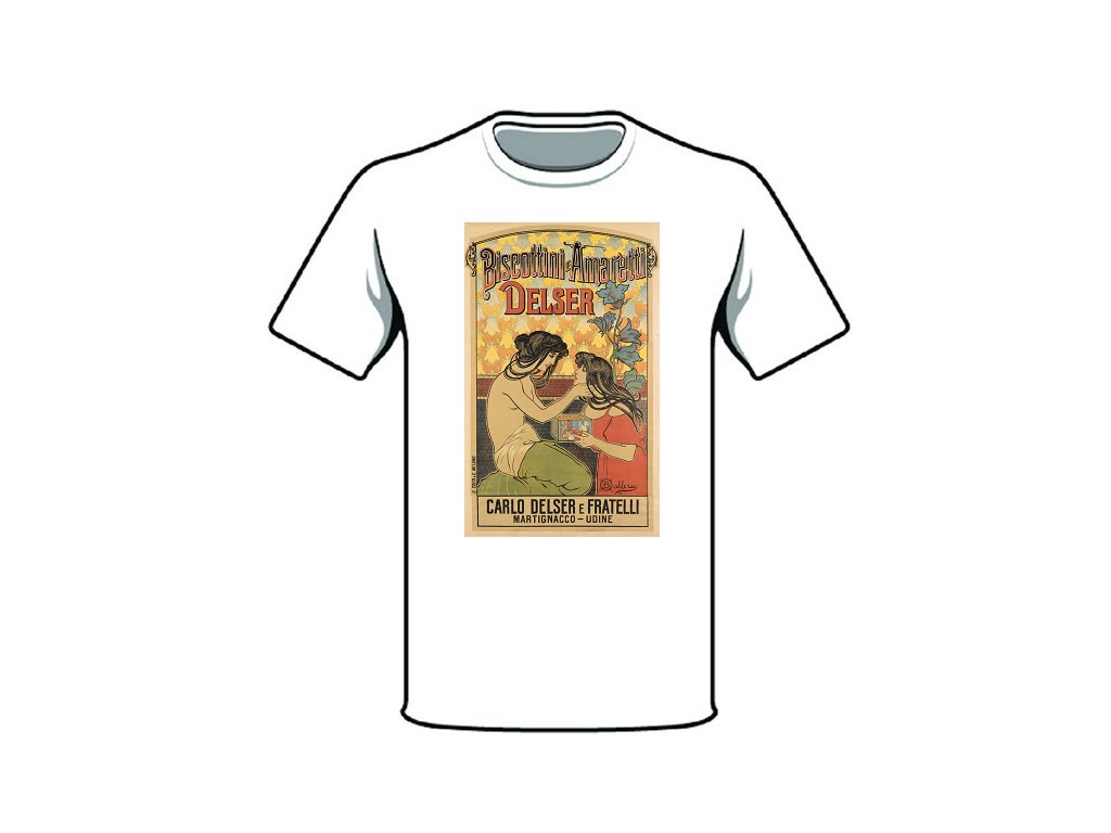 tričko značka delser