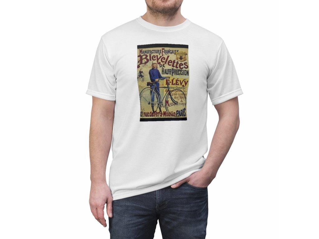 Retro tričko - E.Levy