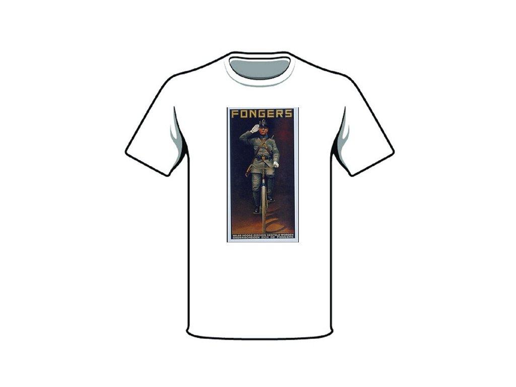 tričko značka fongers
