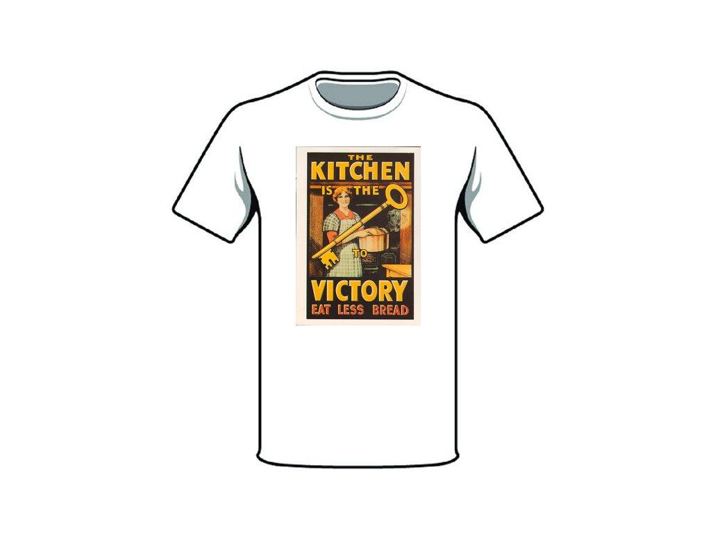 tričko značka kitchen victory