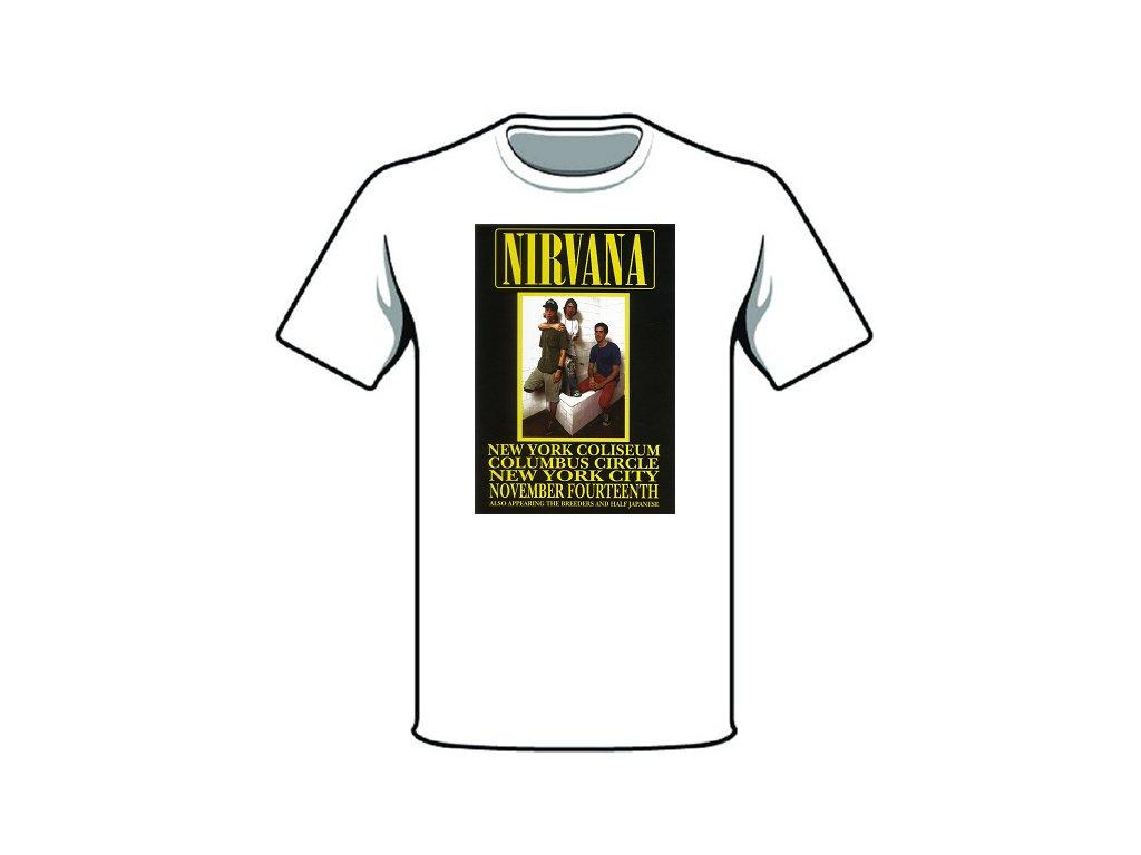 tričko značka nirvana