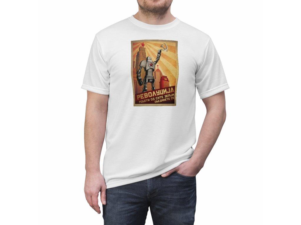 Retro tričko - Robot II