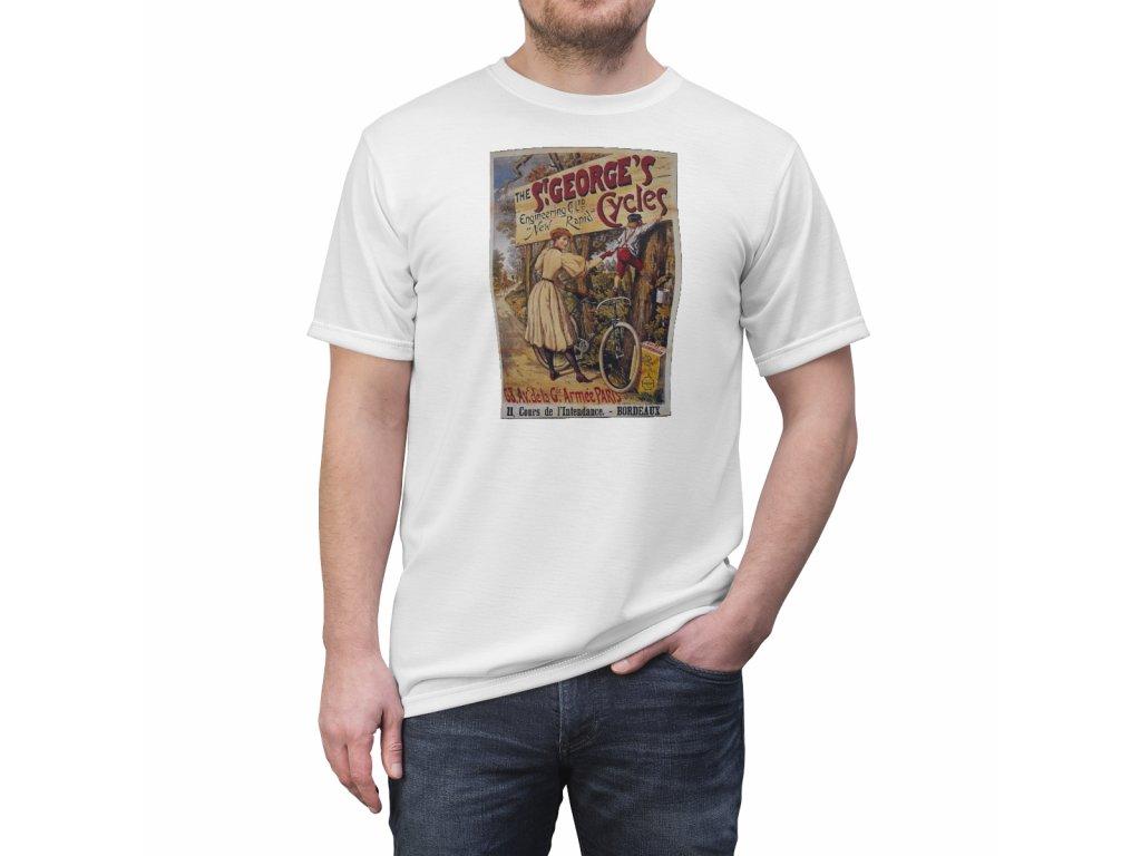 Retro tričko - St. Georges Cycles