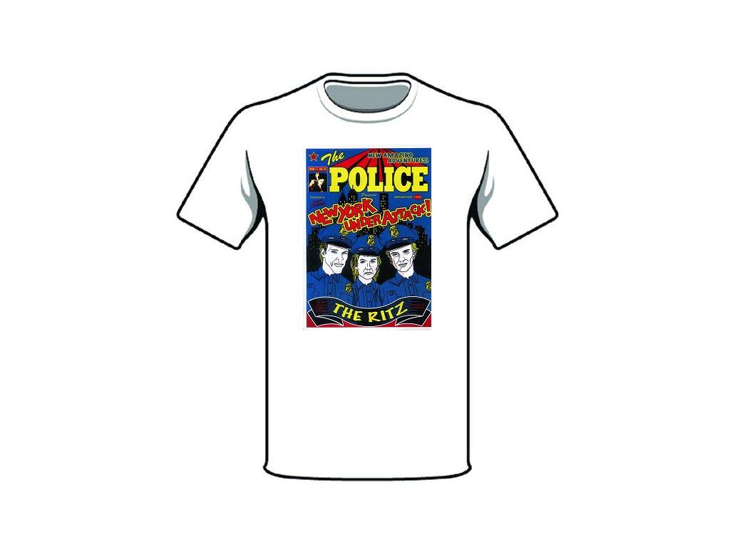 tričko značka the police