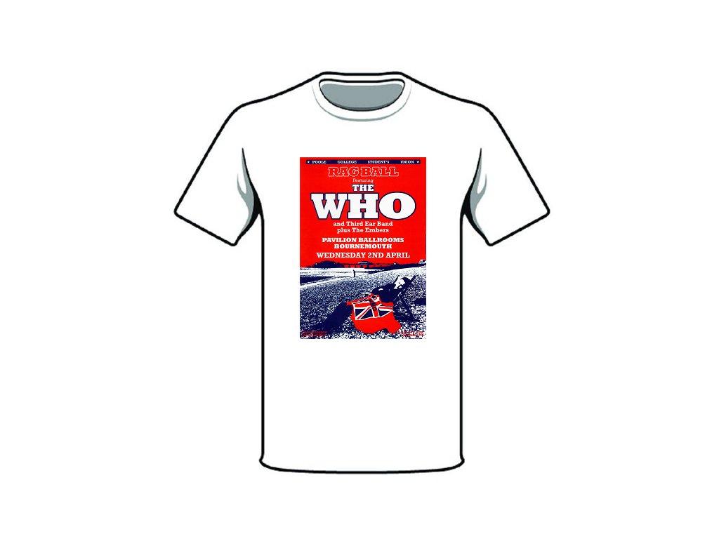 tričko značka the who II
