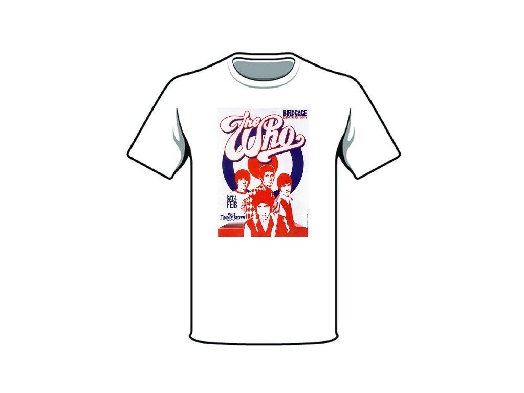 tričko značka the who