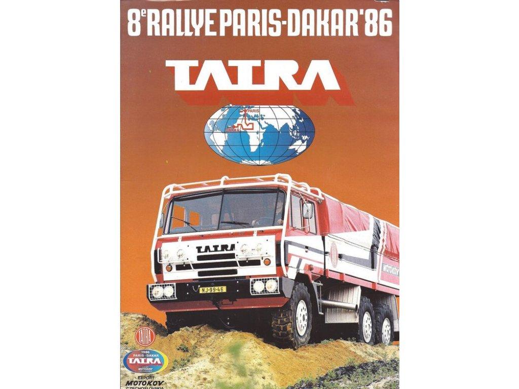 rallye paris dakar 1986