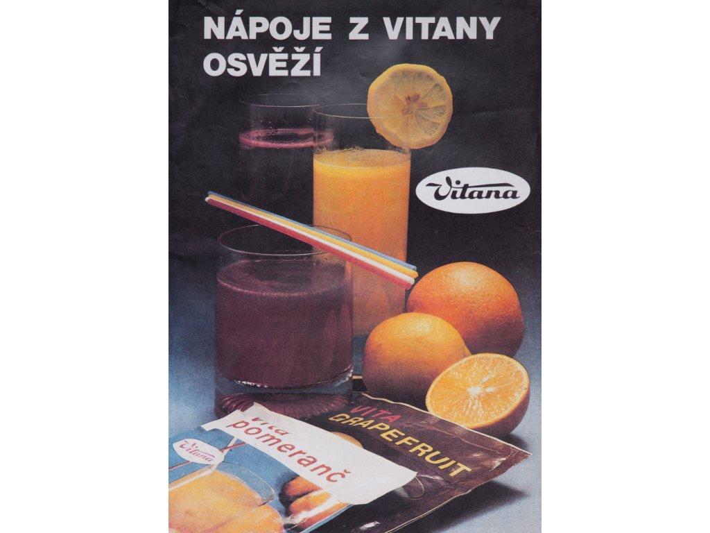 nápoje z vitany osvěží