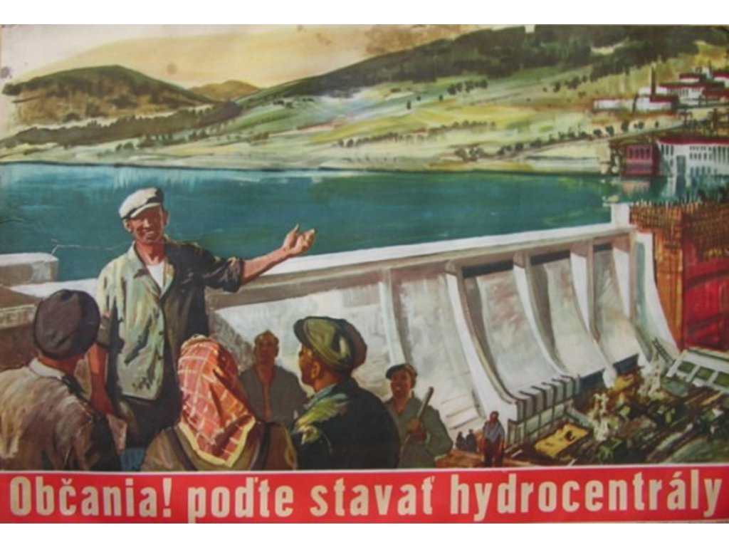 poďte stavať hydrocentrály