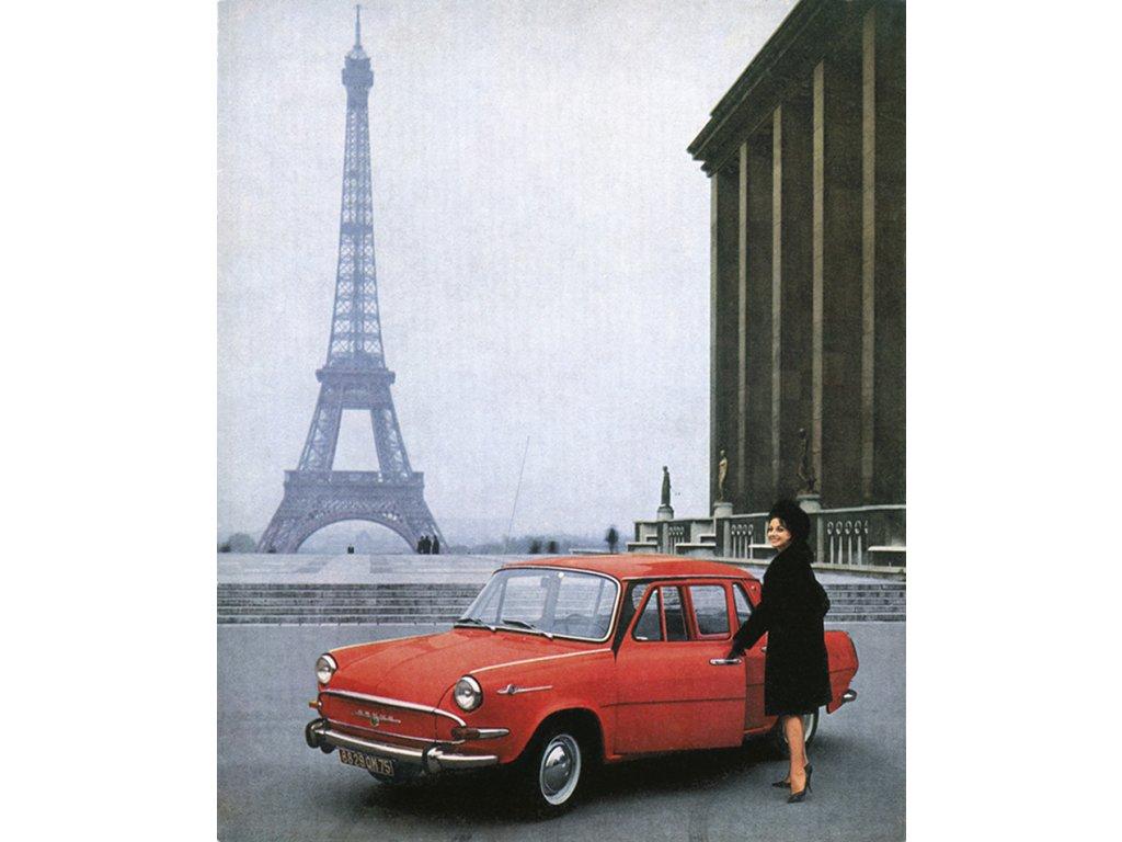 škoda 1000 mb paříž