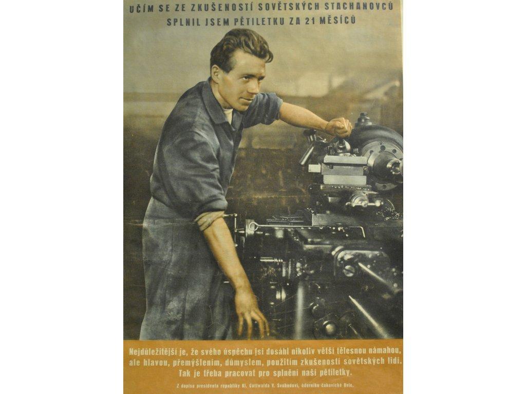 učím se ze zkušeností sovětských stachanovců