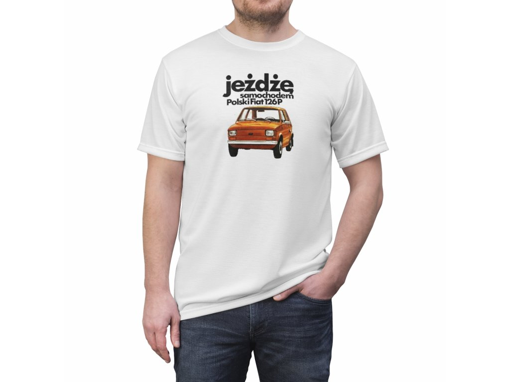 Retro tričko - Polski Fiat 126P
