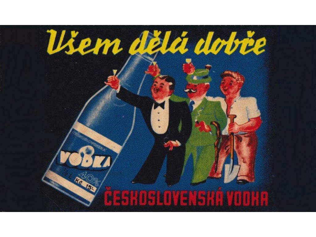 československá vodka
