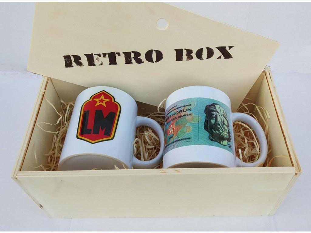 retro box 2 hrnky