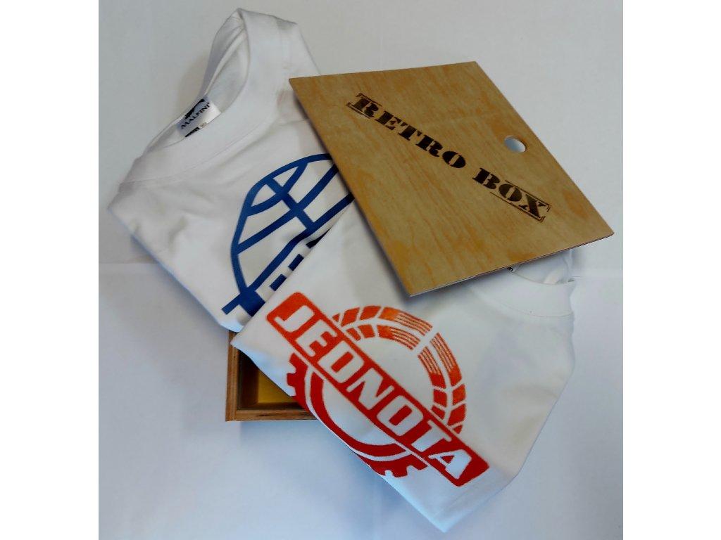 retro box 2 trička