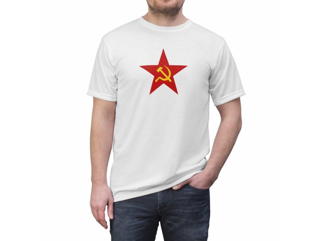 Retro tričko - Srp a kladivo
