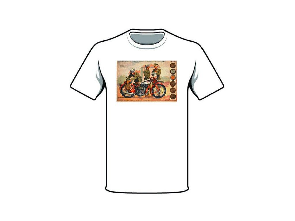 retro triko armadni spojovaci sluzba