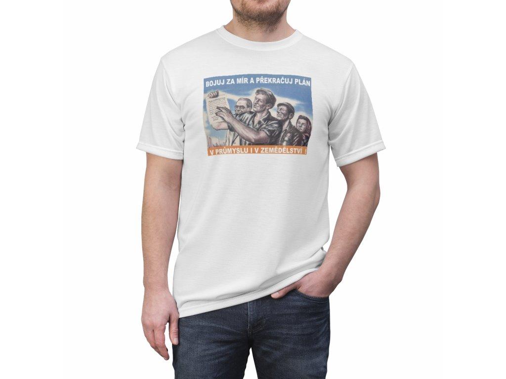 Retro tričko - Bojuj za mír