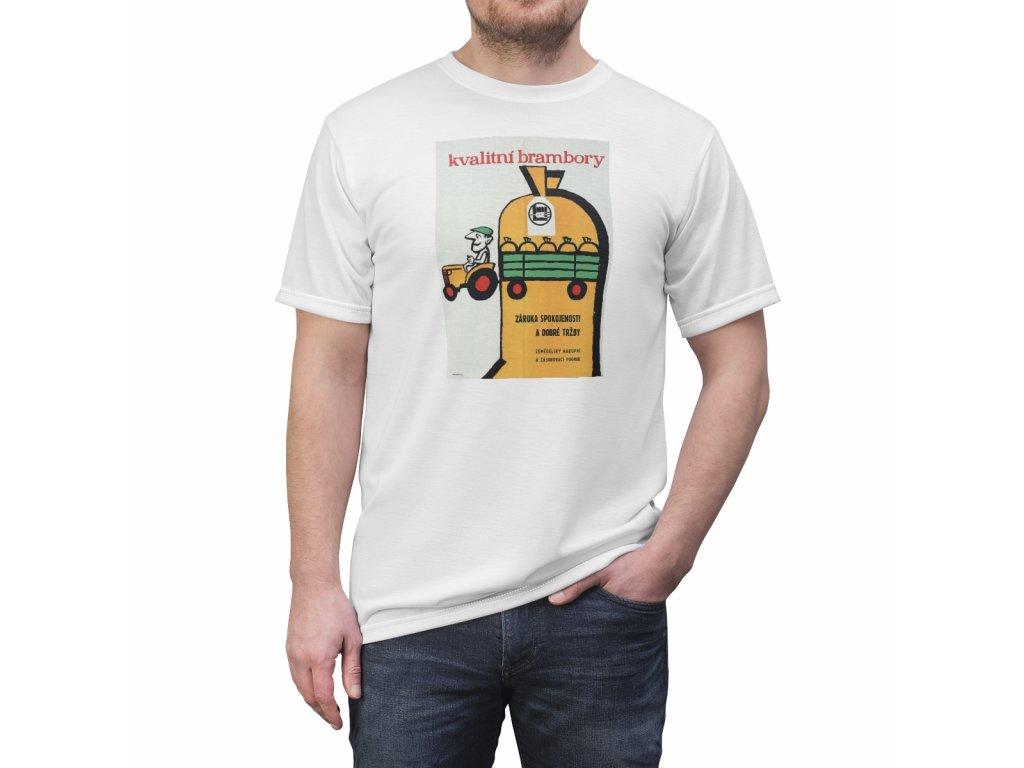 Retro tričko - Kvalitní brambory