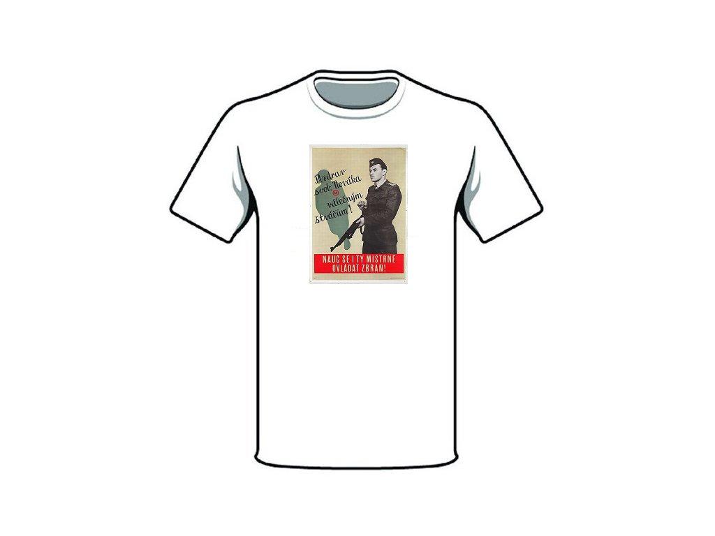 retro triko pozdrav svob novaka