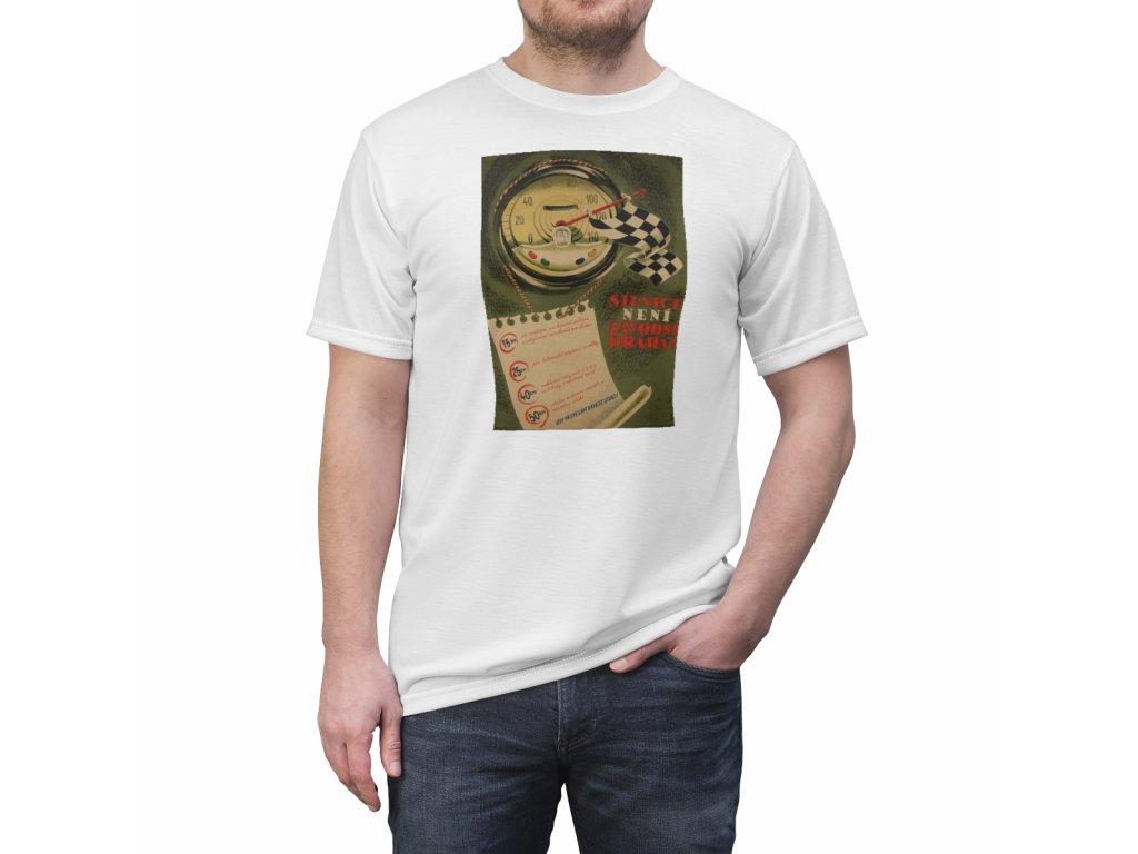Retro tričko - Silnice není závodní dráha