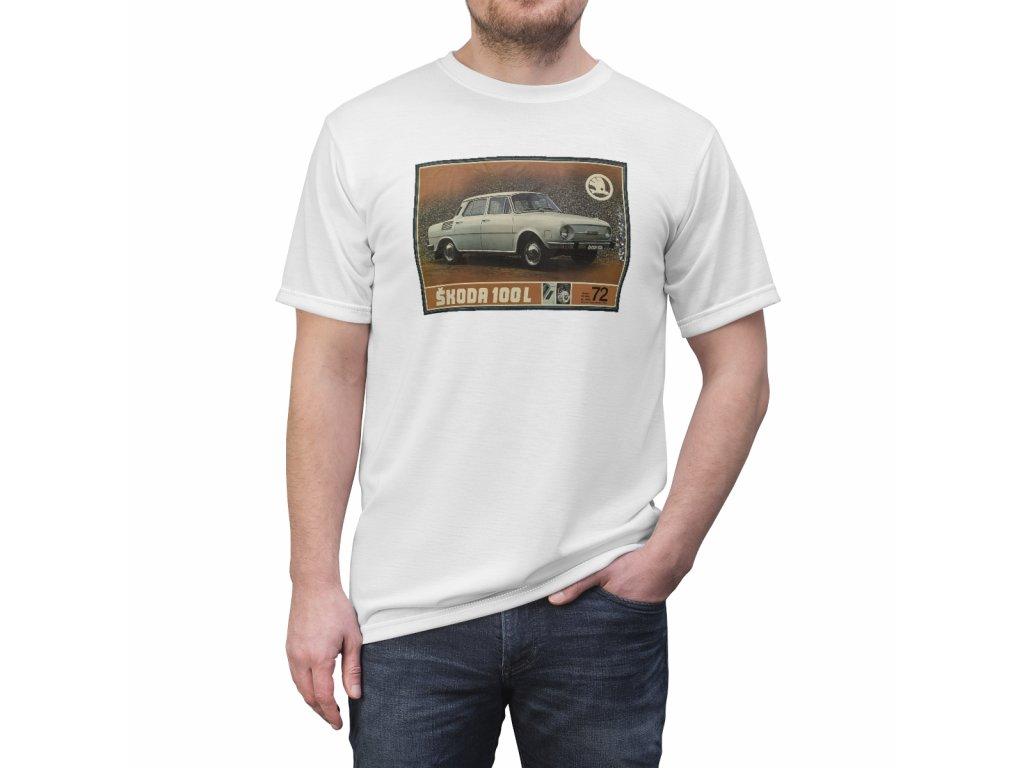 Retro tričko - Škoda 100L