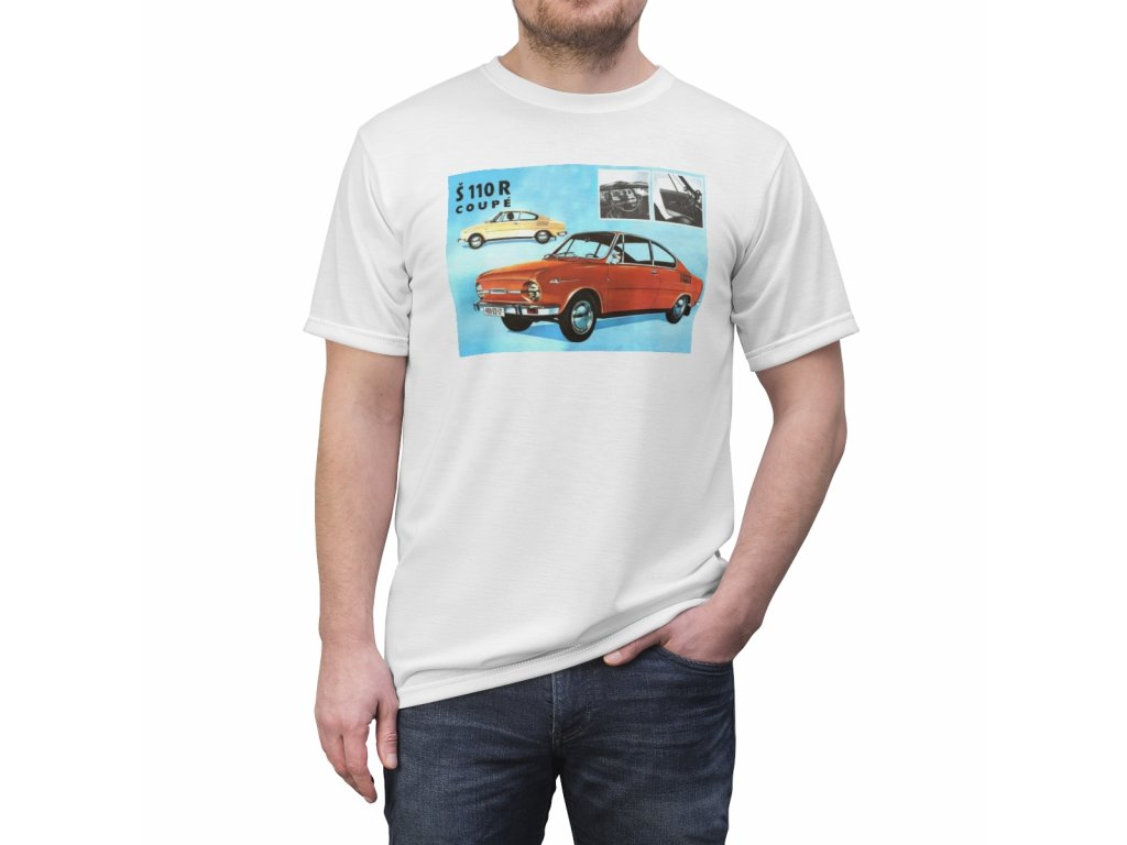 Retro tričko - Škoda 110R Coupe
