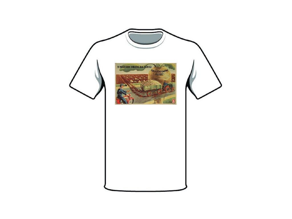 retro triko v podzimni sklizni