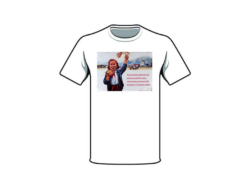 retro triko vzorne plneni dodavek