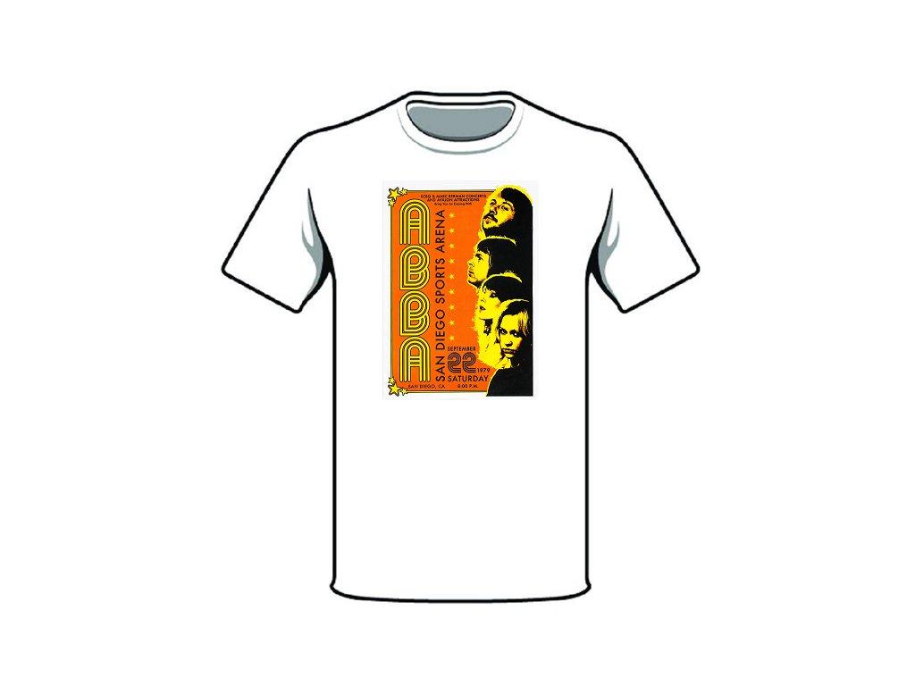 tričko značka abba