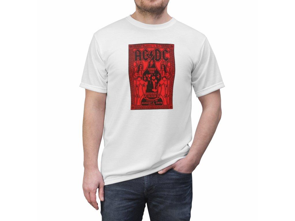 Retro tričko - AC DC