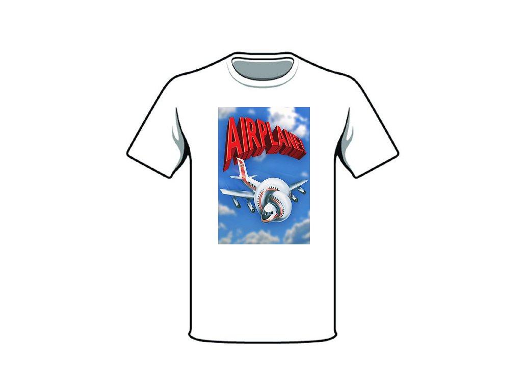 tričko značka airplane