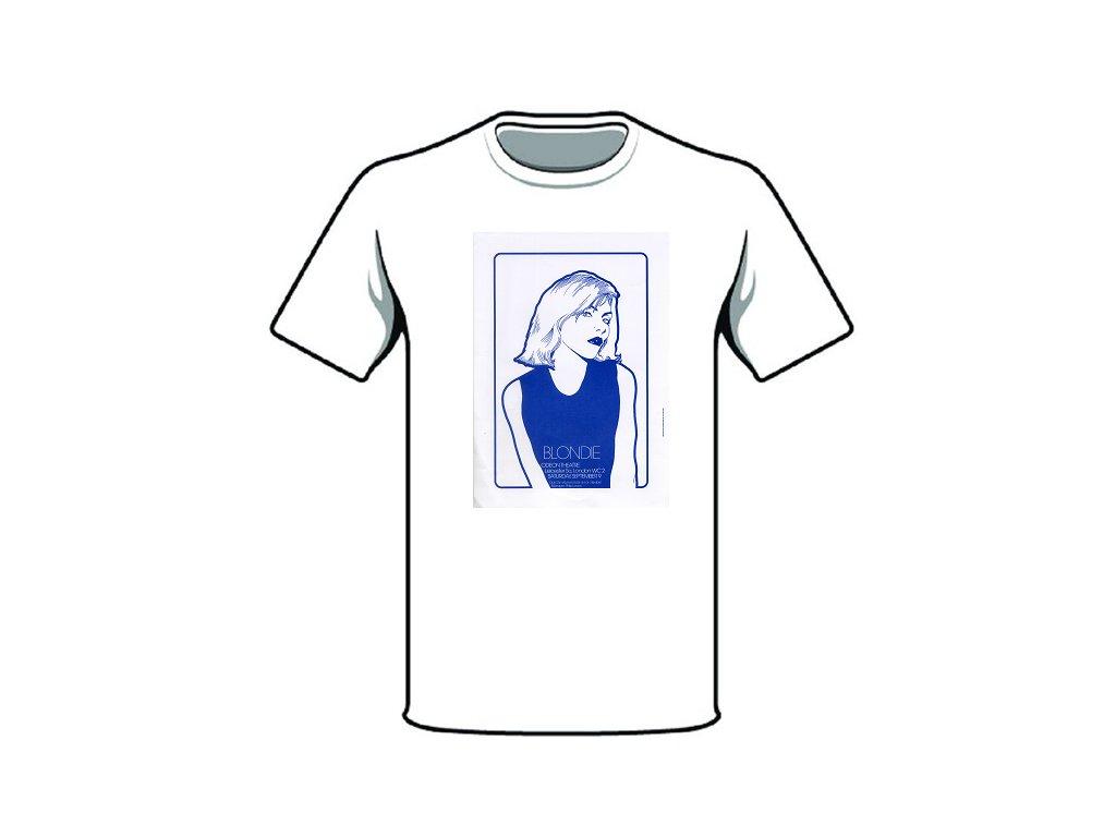 tričko značka blondie