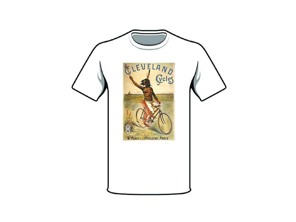 tričko značka cleveland cycles