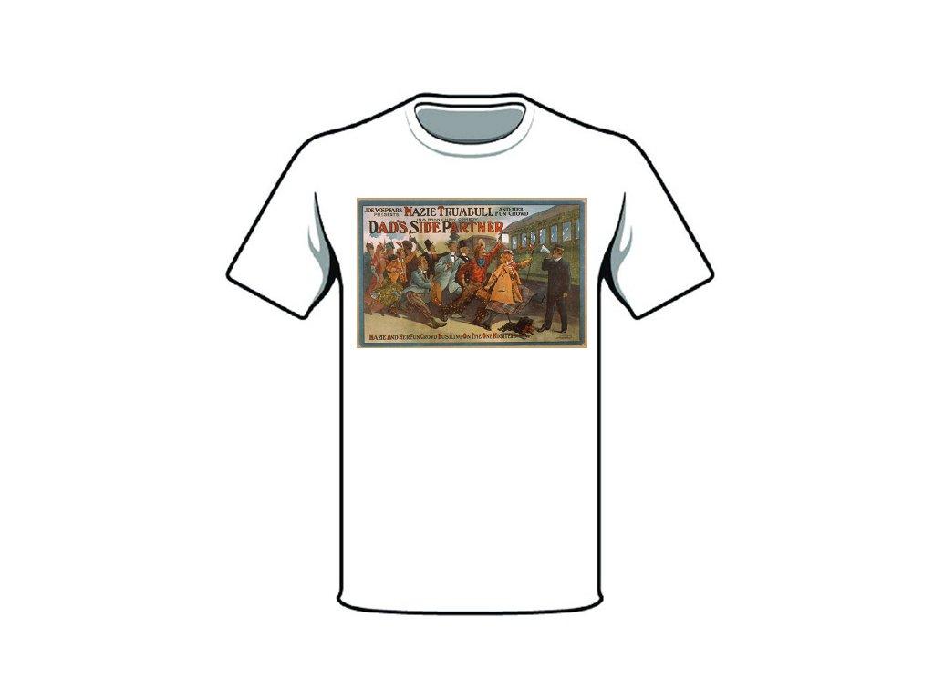 tričko značka dads side