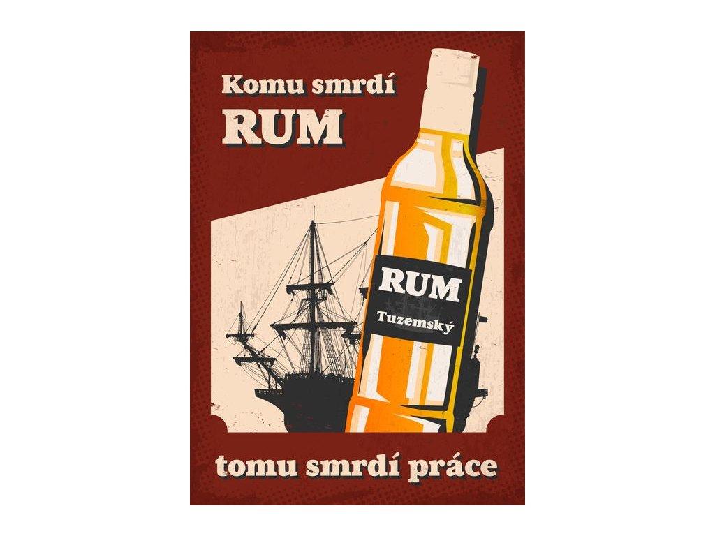 komu smrdí rum