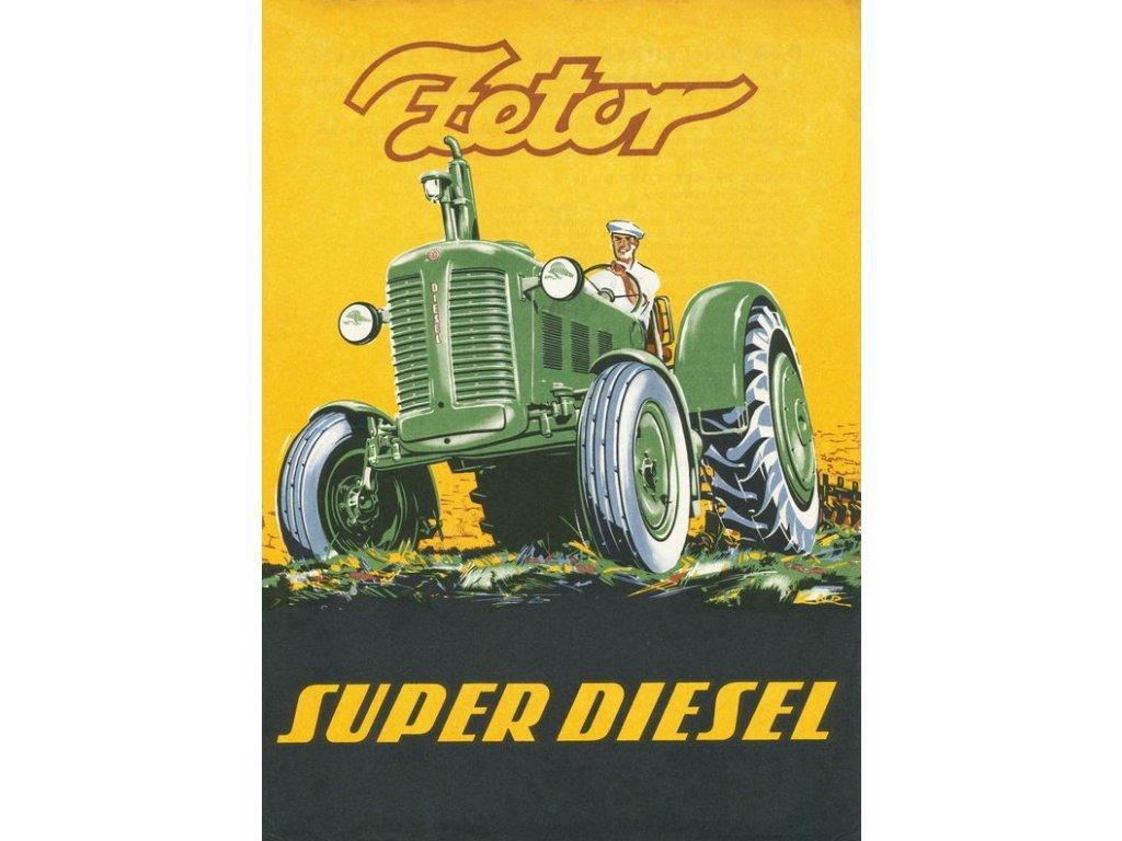 zetor super diesel
