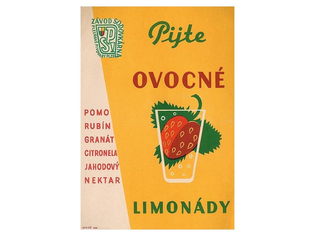 pijte ovocné limonády