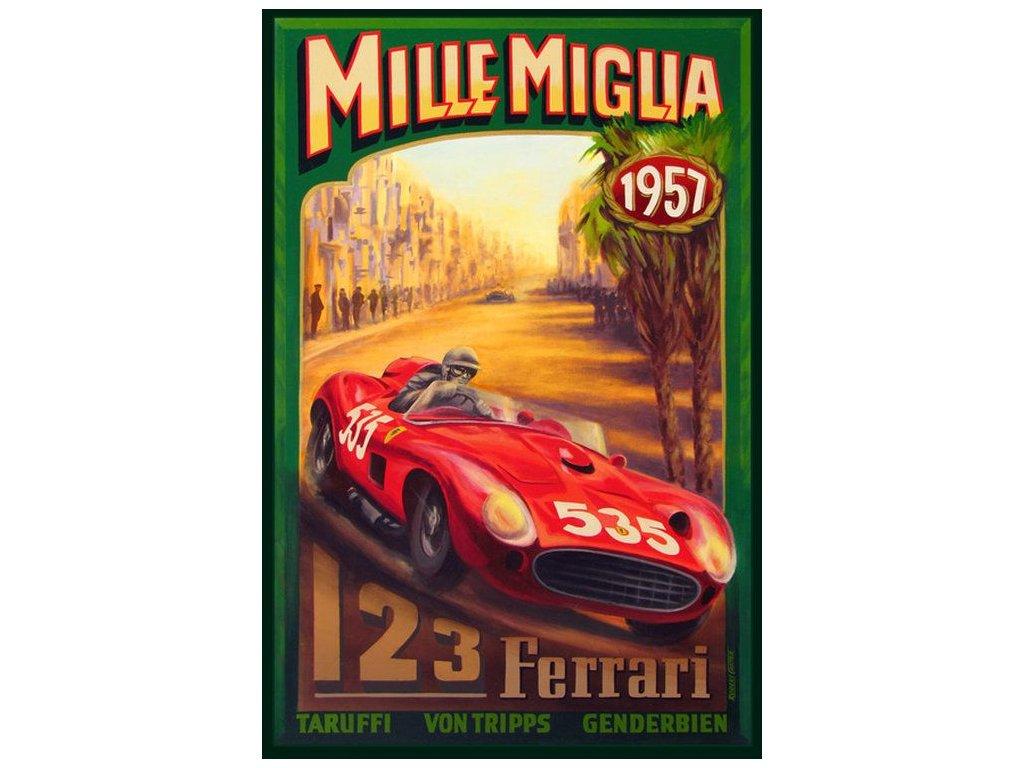 mille miglia ferrari 1957